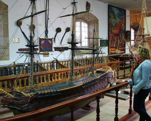 Museo Naval de Ferrol en Galicia