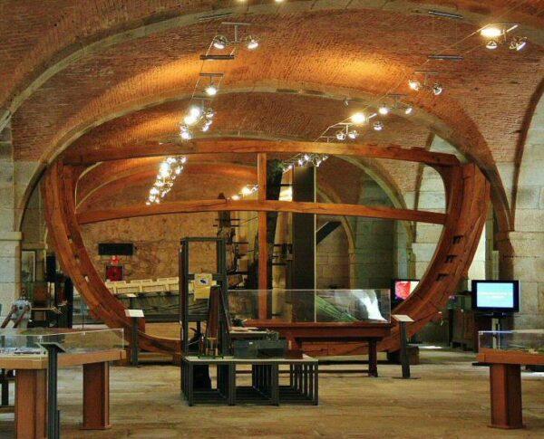Exponav, museo de Construcción Naval de Ferrol en Galicia