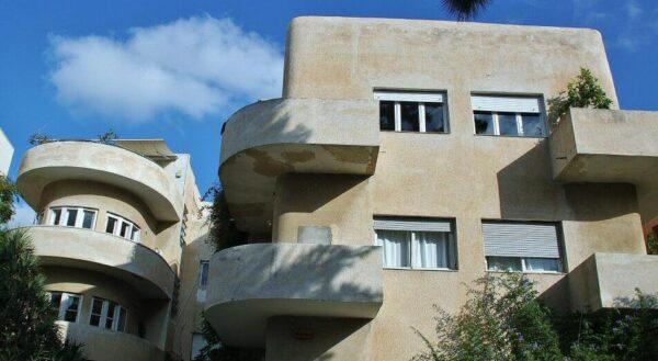Ciudad Blanca de Tel Aviv en Israel
