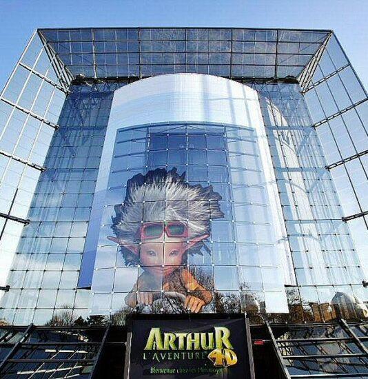 Arthur la aventura 4D en Futuroscope