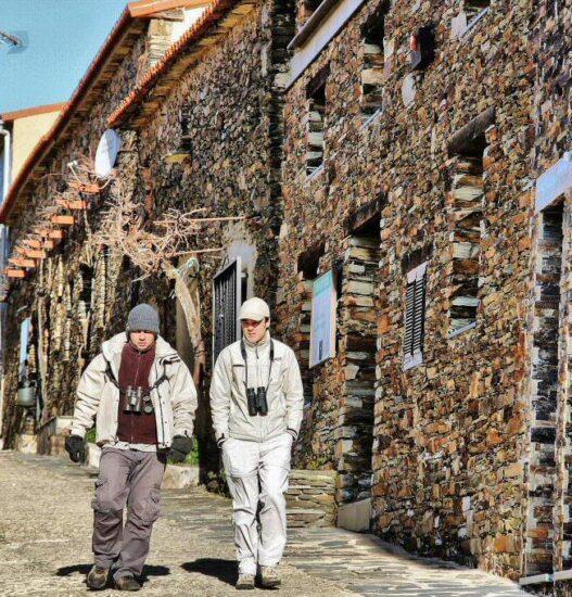 Villarreal de San Carlos en el parque nacional de Monfragüe
