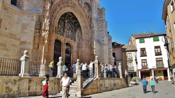Iglesia de Santa María la Real en Aranda de Duero