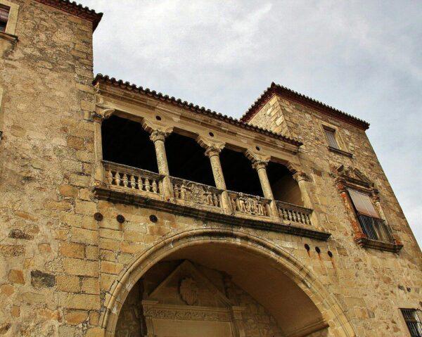 Palacio de los Escobar en Trujillo en Extremadura