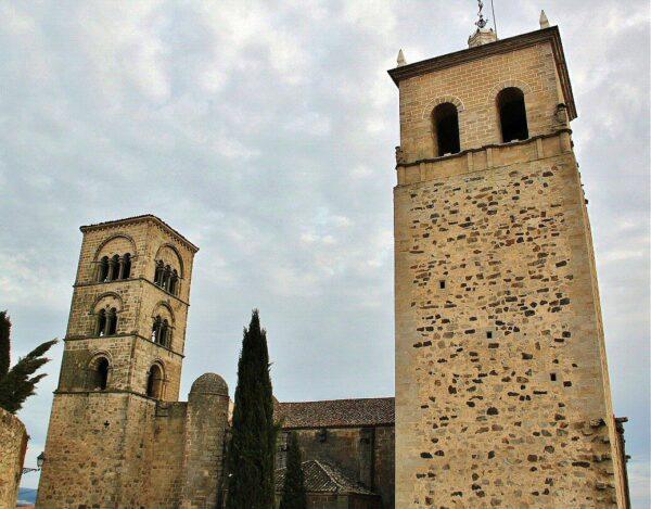 Iglesia de Santa María la Mayor en Trujillo en Extremadura
