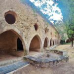 Segundo claustro gótico del Monasterio de Santes Creus