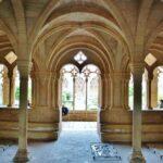 Sala capitular del Monasterio de Santes Creus en Cataluña