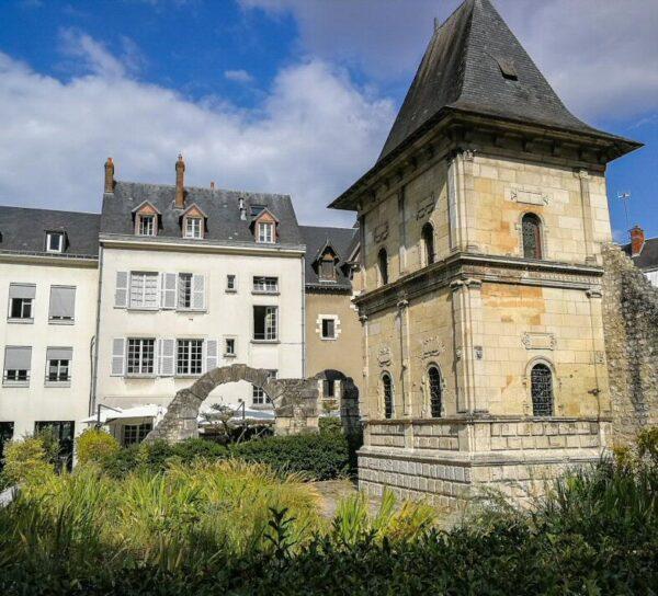Jardín Jaques Boucher en Orleans en Valle del Loira