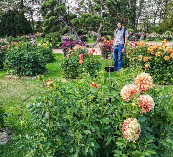Parque Floral La Source en Orleans en Valle del Loira