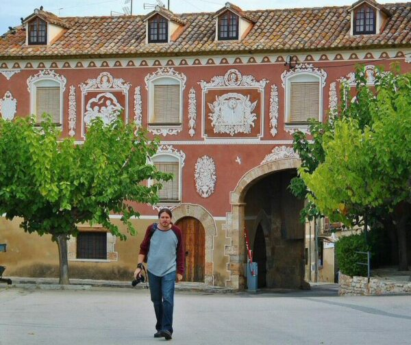 Entrada al recinto del Monasterio de Santes Creus en Cataluña