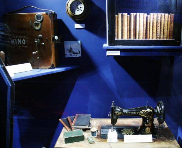 Objetos de expediciones polares noruegas en el museo Fram de Oslo