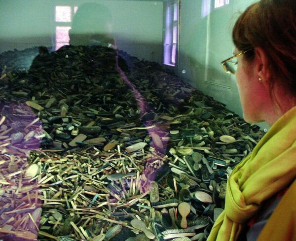 Memorial del antiguo campo de concentración Auschwitz I en Polonia
