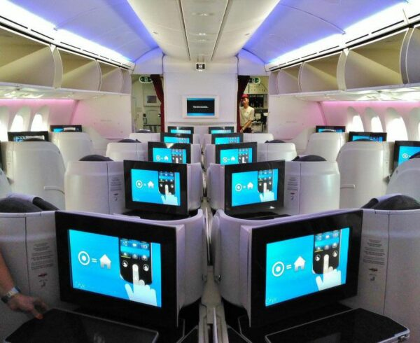 Clase Business en Qatar Airways