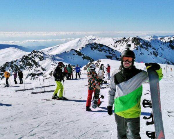 Estación de esquí de Sierra Nevada en Andalucía