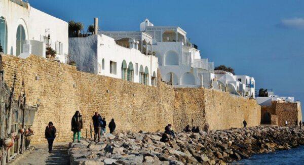 Fortaleza de la medina de Hammamet en Túnez