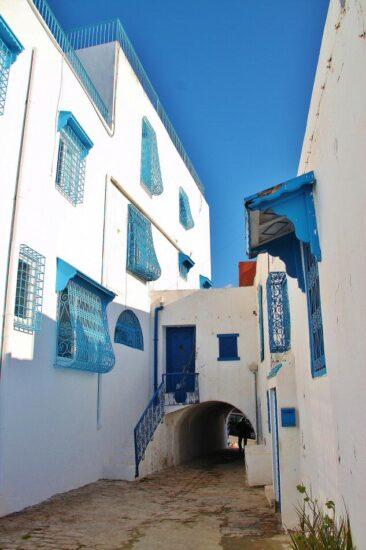 Sidi Bou Said en Túnez