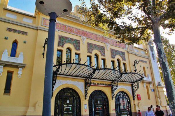 Antiguo Cinema Castillet en Perpiñán