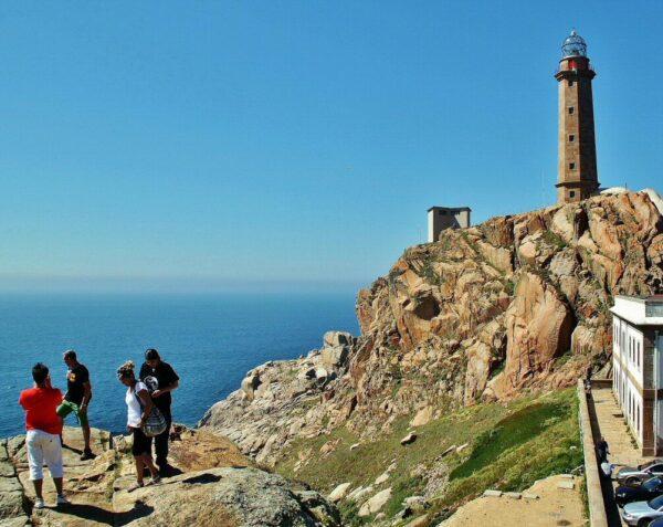 Cabo Vilán en la Costa da Morte de Galicia
