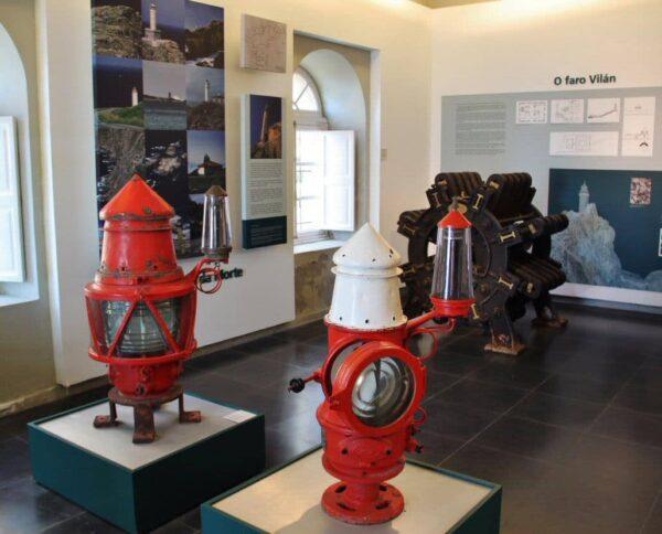 Museo de los Faros de Costa da Morte en Galicia