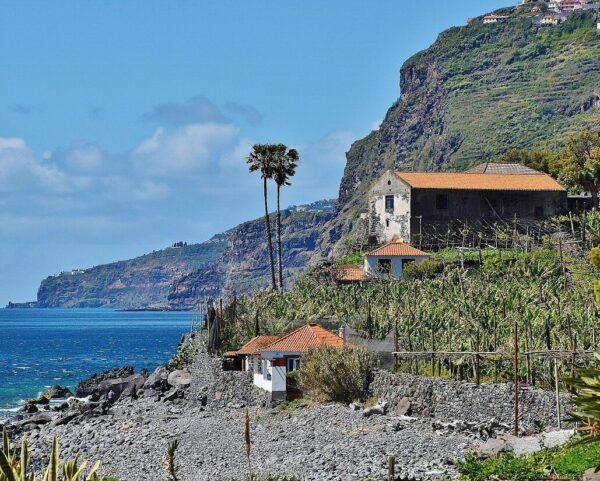 Funicular de Faja dos Padres en Madeira en Portugal