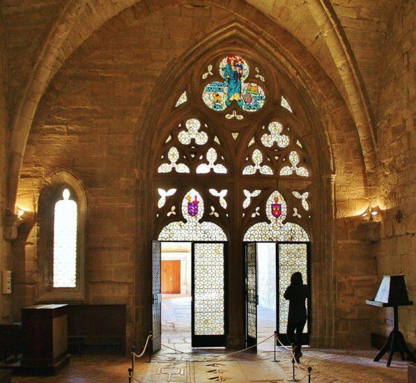 Sala Capitular del Monasterio Vallbona de las Monjas