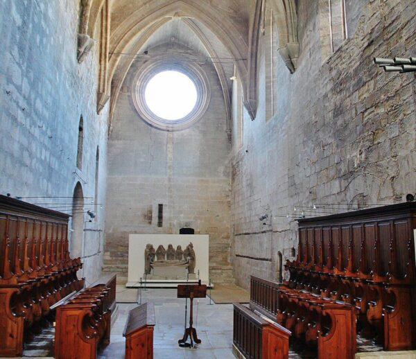 Iglesia del monasterio Vallbona de las Monjas en Lleida