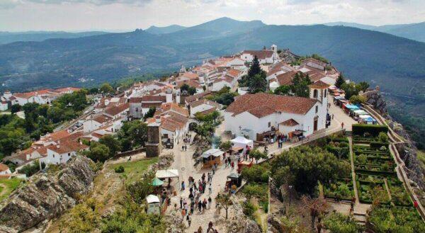 Marvao en la región del Alentejo en Portugal