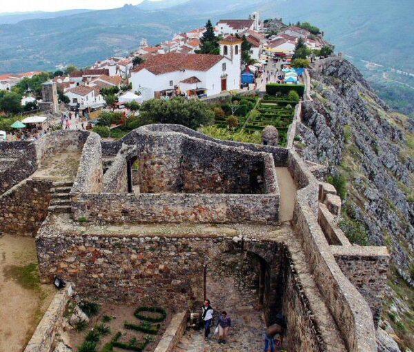 Castillo de Marvao en el Alentejo de Portugal