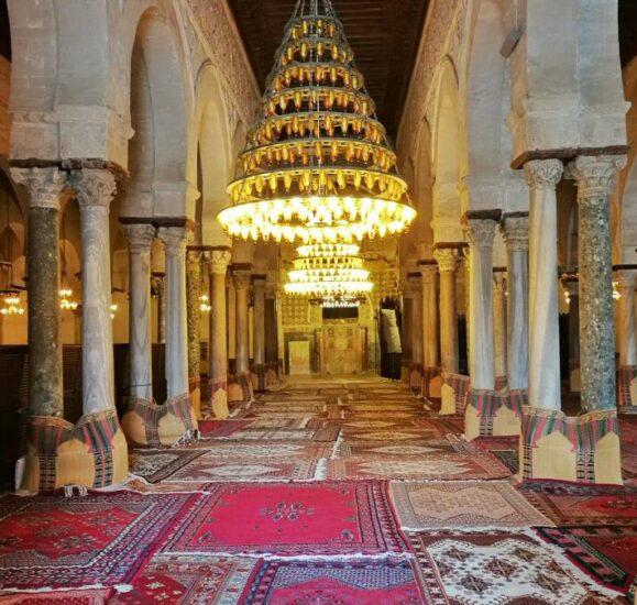 Gran Mezquita de Kairouan en Túnez