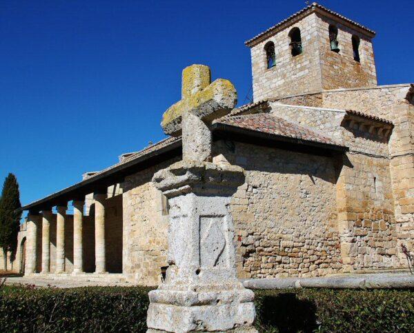 Iglesia mozárabe de Wamba en la provincia de Valladolid