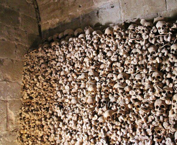 Osario de la iglesia mozárabe de Wamba en Valladolid