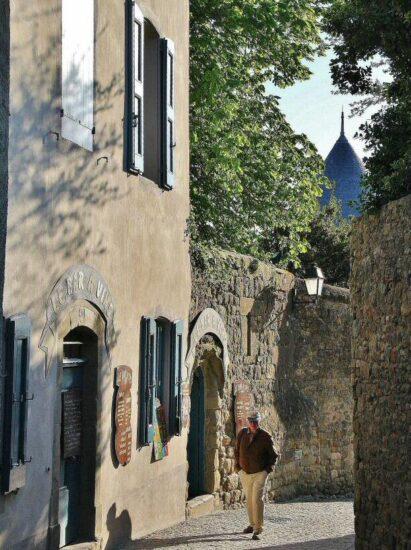 Ciudadela de Carcasona al sur de Francia