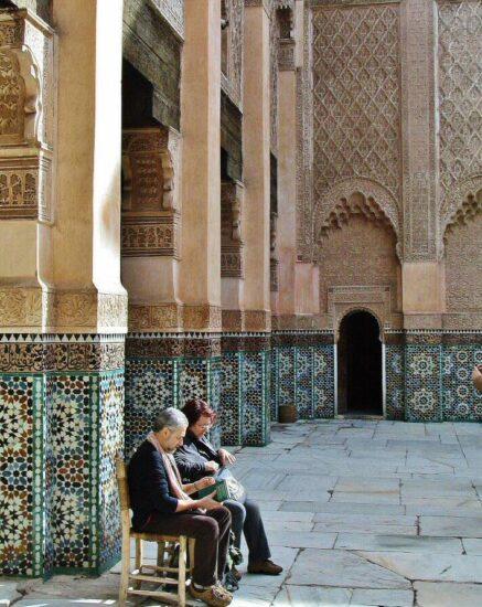 Madraza Ben Youssef en Marrakech en Marruecos