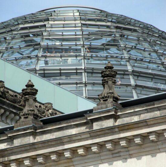 Cúpula de Norman Foster en el Reichstag de Berlín