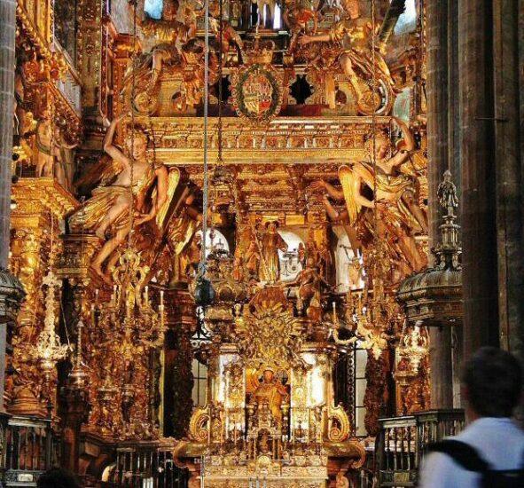 Capilla mayor de la catedral de Santiago de Compostela