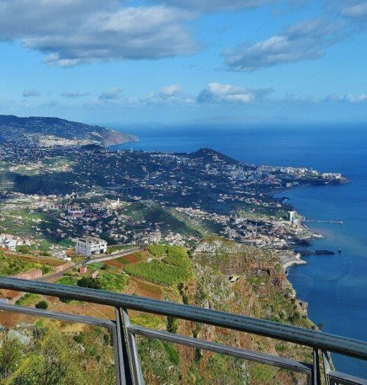 Cabo Girao en Madeira en Portugal