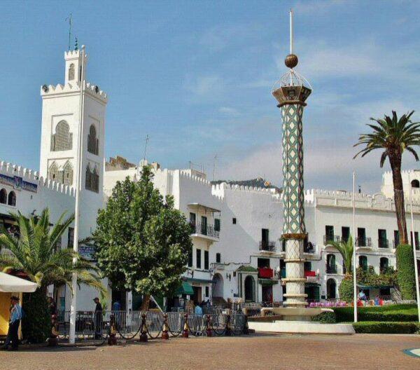 Rincón de la antigua plaza de España de Tetuán
