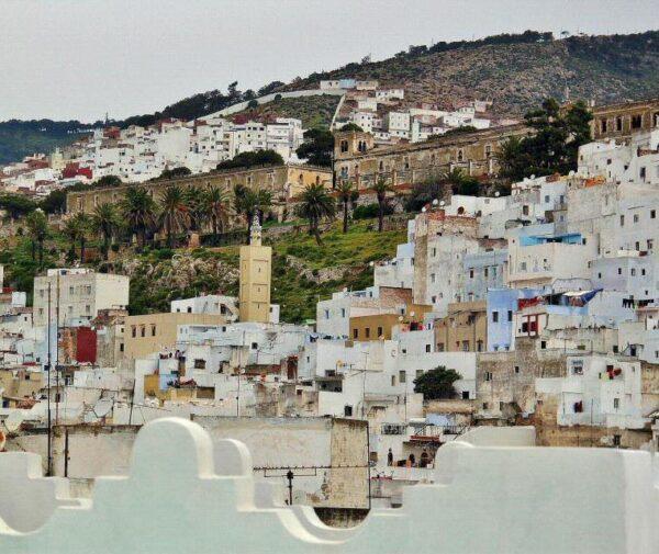 Vistas de la medina de Tetuán al norte de Marruecos