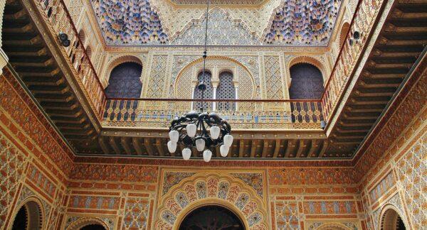 Patio Árabe en el Casino de Murcia