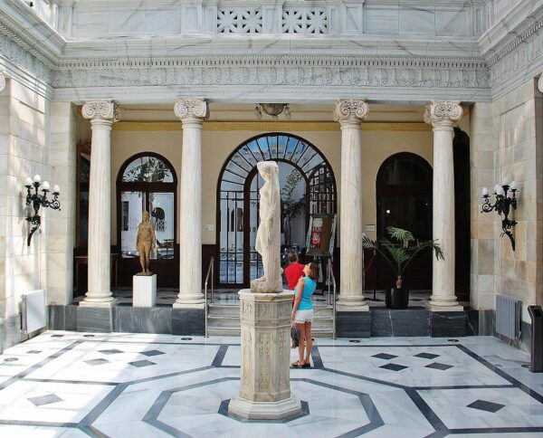 Salón Pompeyano del Casino de Murcia