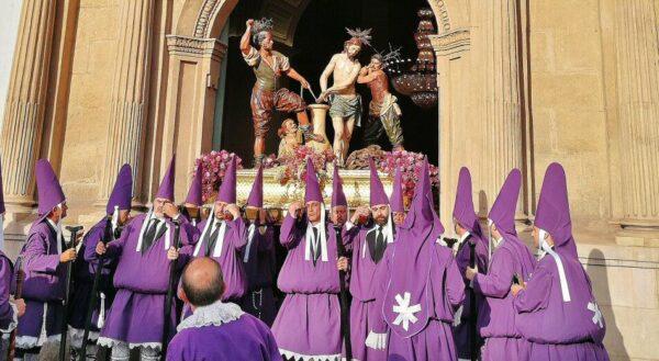 Procesión de los Salzillos en la Semana Santa de Murcia