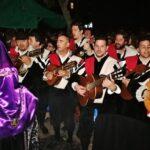 Procesión de la Soledad en la Semana Santa de Murcia