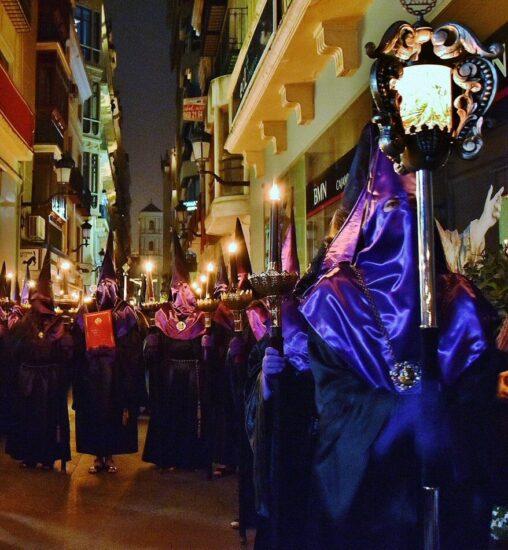 Procesión del Silencio en la Semana Santa de Murcia