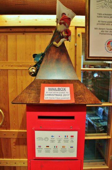 Oficina Postal de Santa Claus en Rovaniemi en Laponia Finlandia