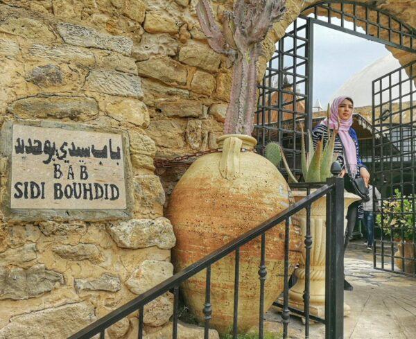 Café Sidi Bouhdid en la medina de Hammamet