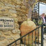 Café Sidi Bouhdid en la medina de Hammamet en Túnez