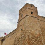 Kasba en la medina de Hammamet en Túnez