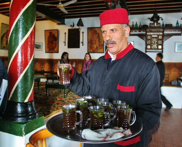 Café de las Esteras en Sidi Bou Said en Túnez