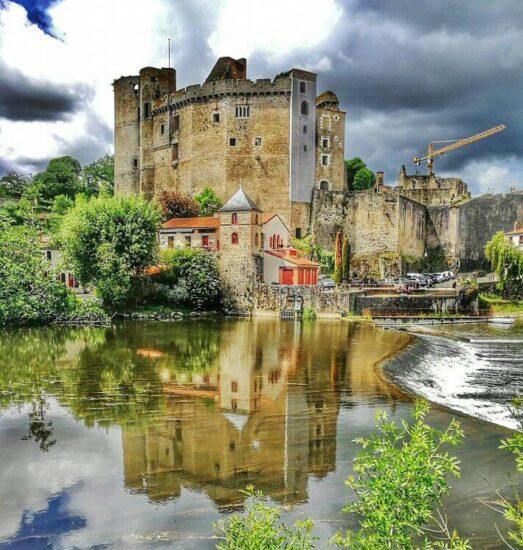 Castillo de Clisson cerca de Nantes