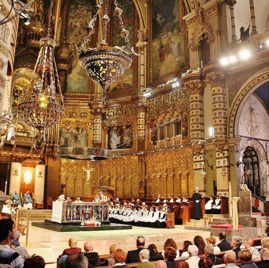 Basílica del Monasterio de Montserrat