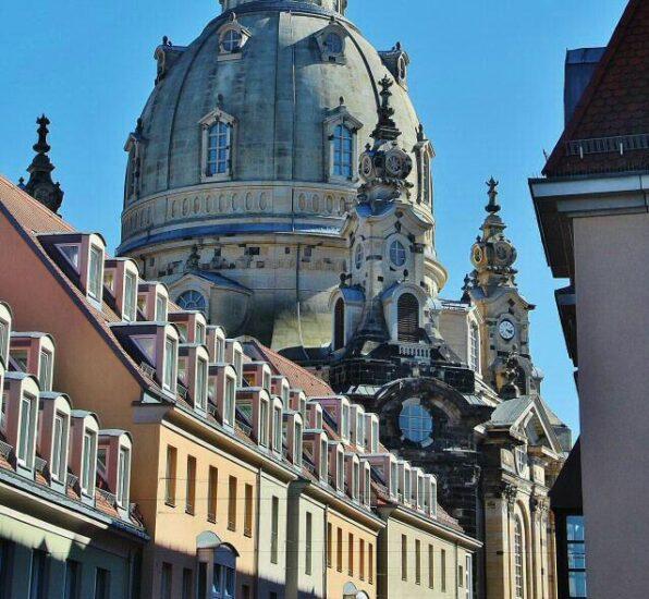 Cúpula de la iglesia Frauenkirche